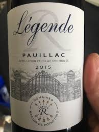 A Legend for your Wine Cellar